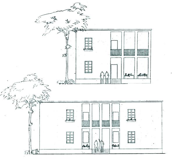 Casa abitazione per appartamenti a divisione orizzontale