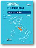 Regione Lazio. Tariffa dei prezzi per opere edili