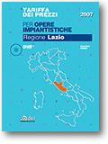 Regione Lazio. Tariffa dei prezzi per opere impiantistiche